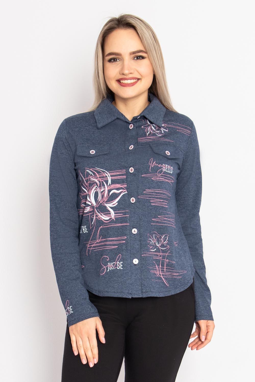 Рубашка Анжела, Тёмно-синяя