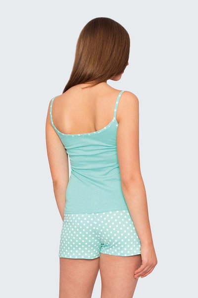 Пижама Юта, Пыльно-голубая