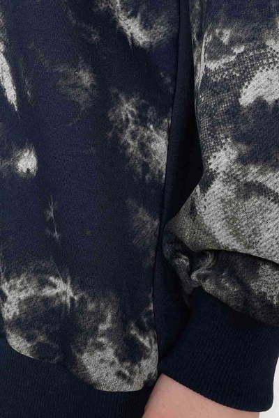 Джемпер Милитари, Тёмно-синий