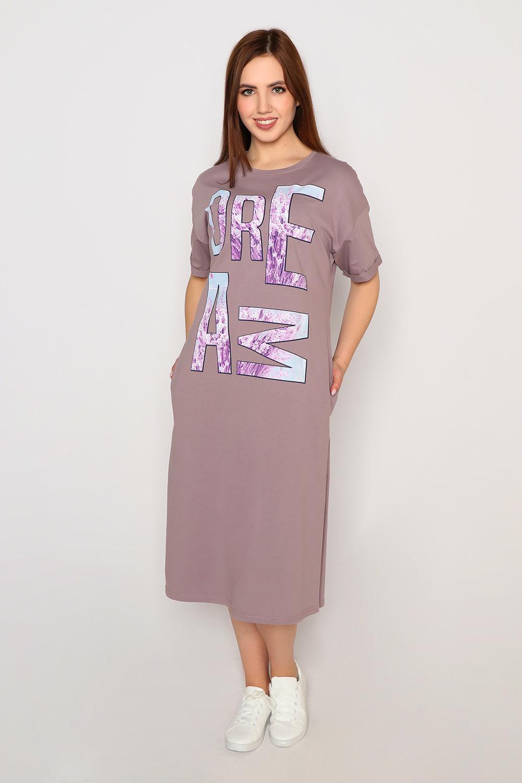 Платье Икона стиля, какао