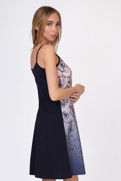 Ночная сорочка Lady, Светло-фиолетовая