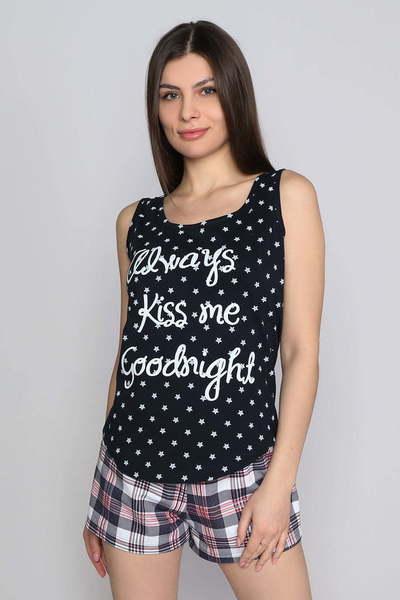 Пижама Good Night, Черная