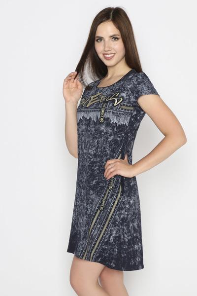 Платье Атлетика, темно-серое
