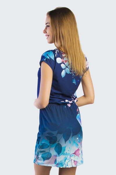 Туника Голубая орхидея, Синяя