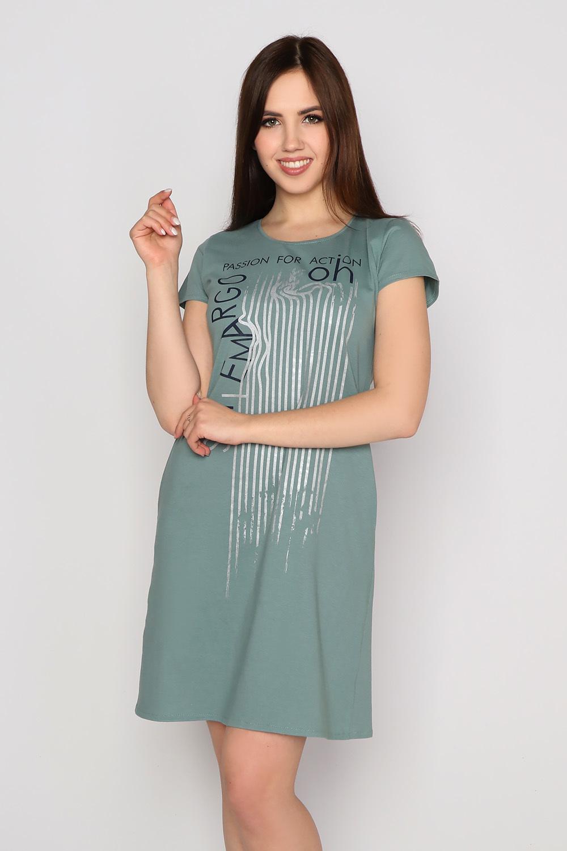 Платье Азарт, хаки