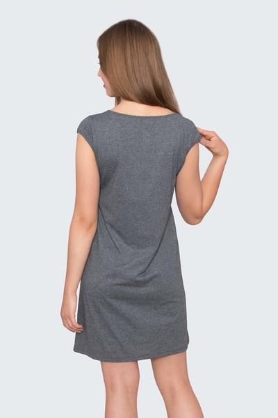Ночная сорочка Есения, Тёмно-серая