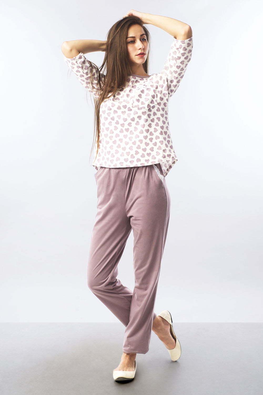 Пижама Вики, Бежевая