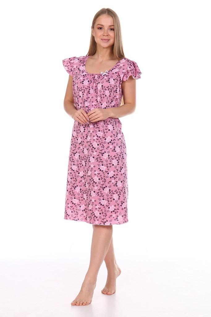 Ночная сорочка Верена, розовая