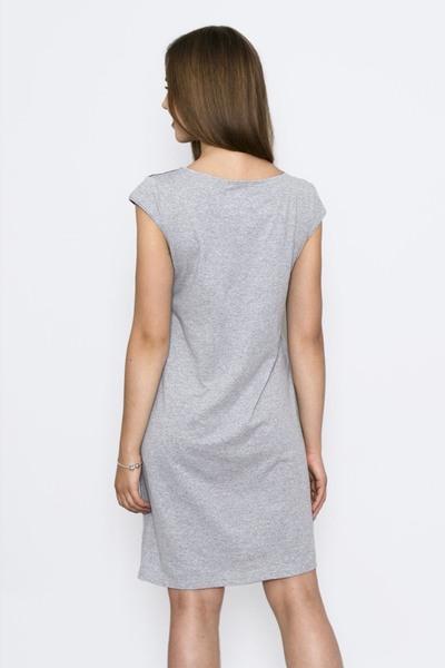 Ночная сорочка Есения, Серая