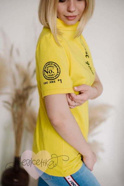 Футболка Ф241/2, желтая