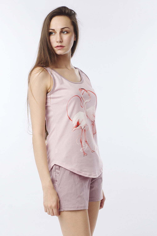 Пижама Love You, Пудровая