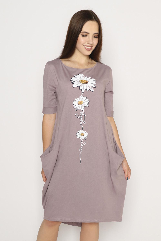 Платье Роман, какао