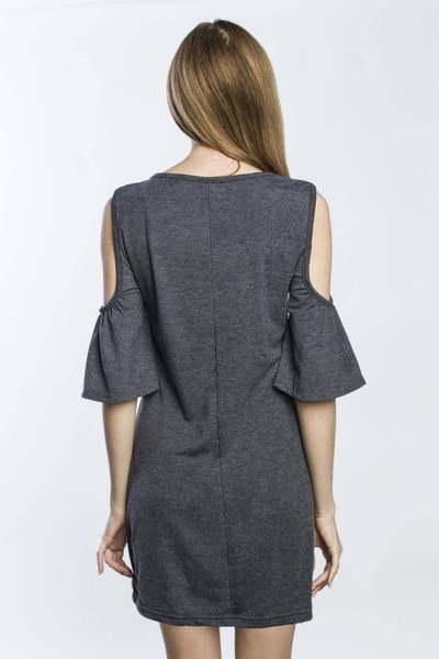 Платье SUMMER, Темно-серое