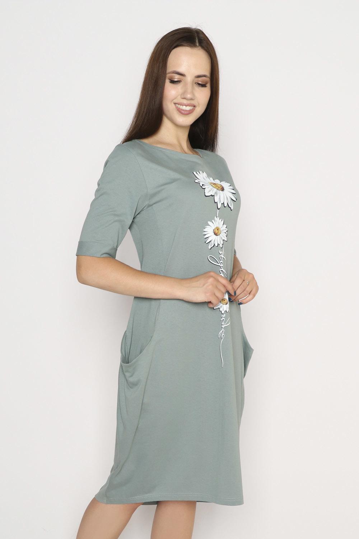 Платье Роман, хаки