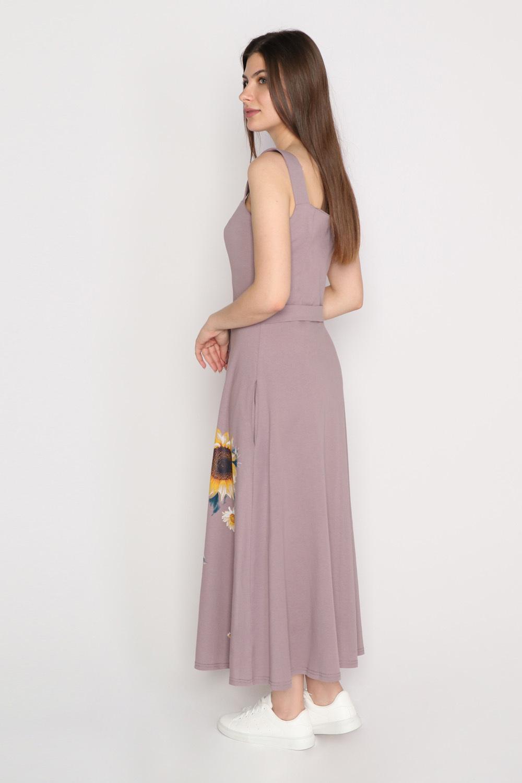 Платье Подсолнух, какао