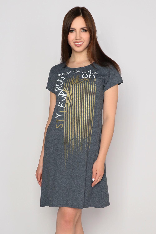 Платье Азарт, антрацит