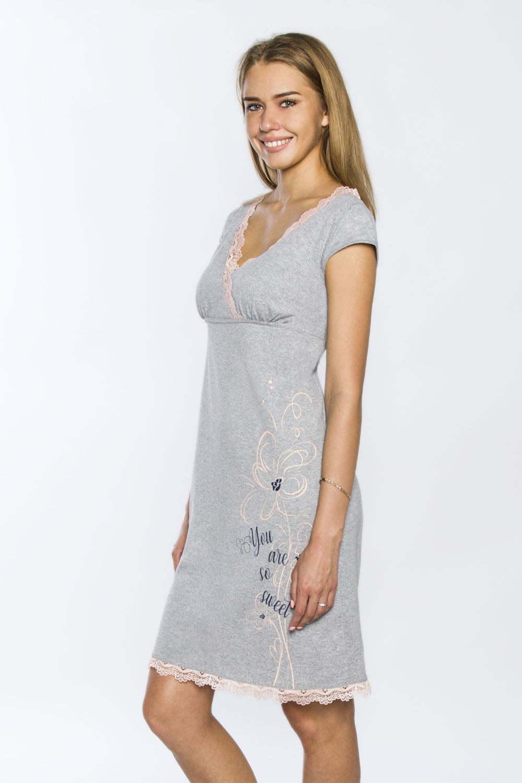 Ночная сорочка Мелисса, Серая